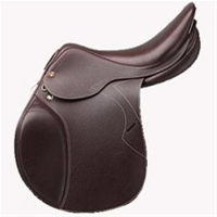 The Prestige Versailles Jump Saddleis Mid seat latex panelled saddle.  Printed Leather �1400