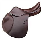 the roma saddle comes with medium sized blocks.