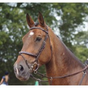 E100 NEW Technical data: HIGH LINE MEREDITH BRIDLE The Meredith range would be incomplete without an exclusive bridle model in leather and with new inserts for the browband and Noseband. From £215
